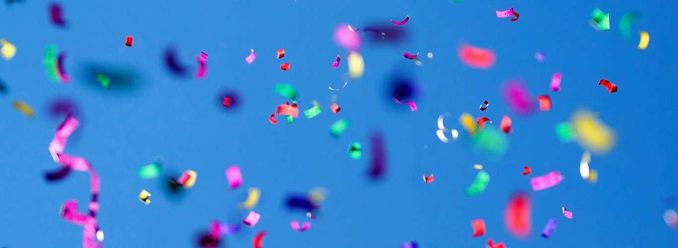 imagem de confetes para posts sobre doenças sexualmente transmissíveis especialmente perigosas durante o carnaval