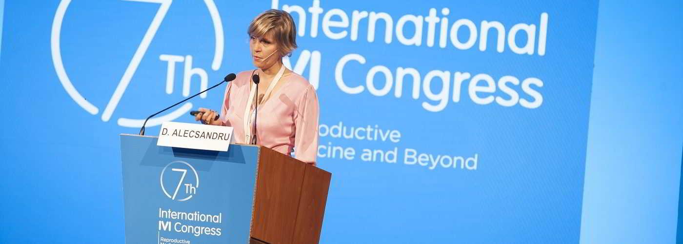 Drª Diana Alecsandru, imunologista da clínica IVI Madri