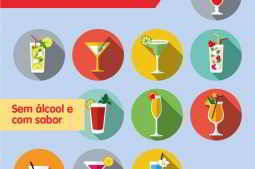 exemplo de bebidas sem alcool